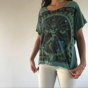 Urban Outfitters Tops Hindu T Shirt